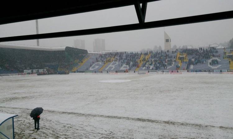 Odgođena utakmica između Željezničara i Sarajeva