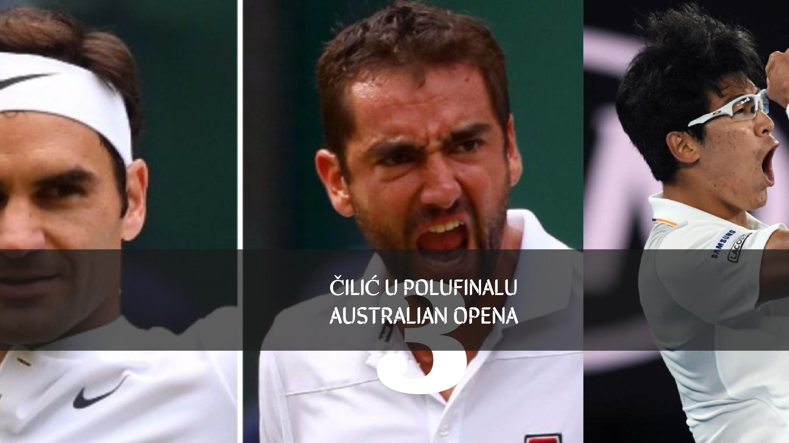 Marin Čilić u finalu Australian Opena: Na ATP listi treći