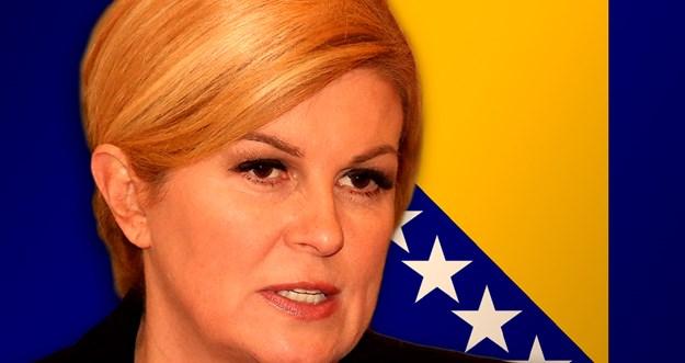 Predsjednica Hrvatske: Ja sam prijatelj Bosne i Hercegovine
