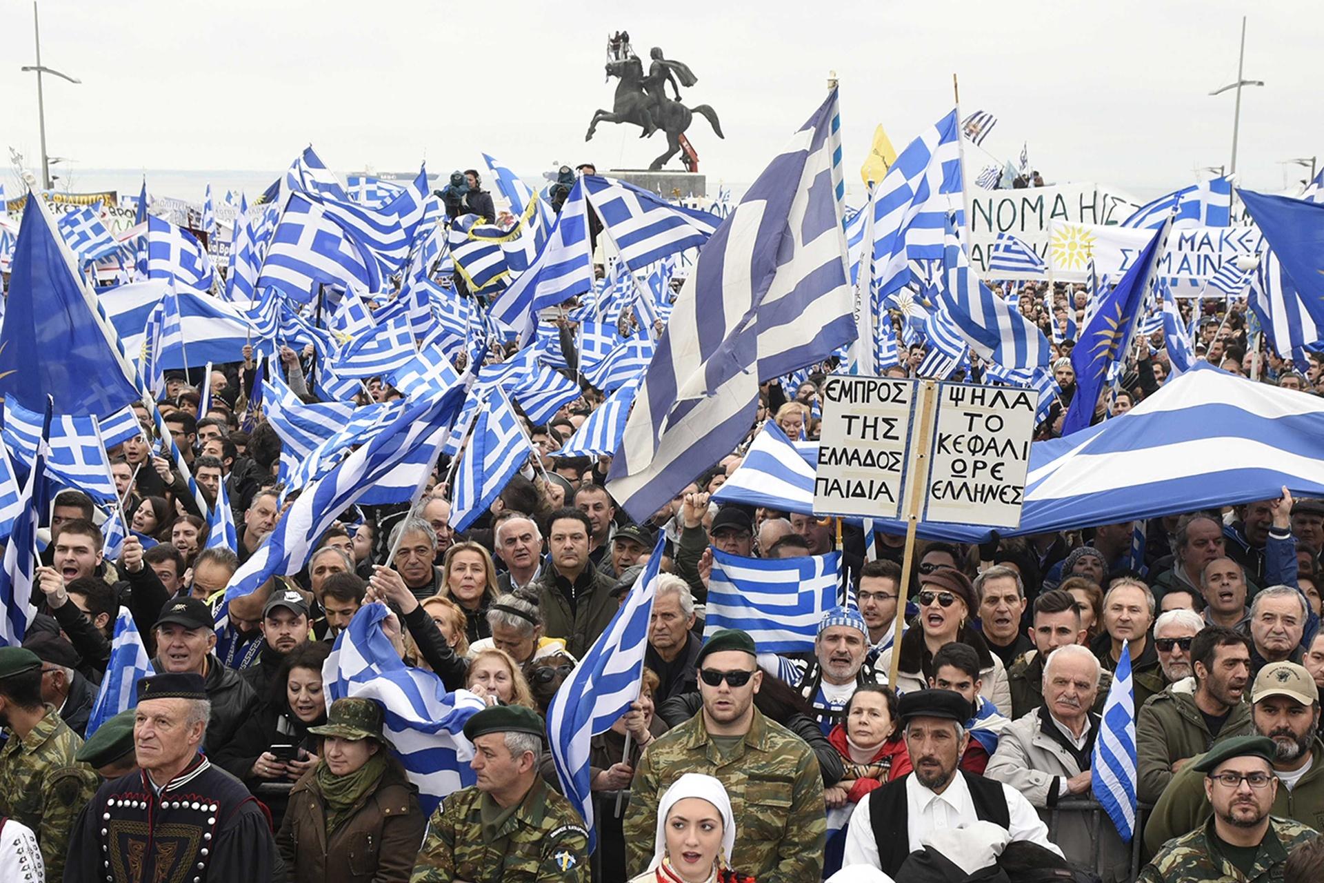 """Grčka-Makedonija: I dalje bez rješenja kad je u pitanju korištenje imena """"Makedonija"""""""