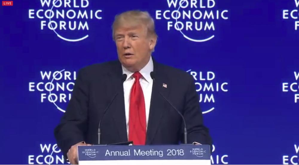 Predsjednik SAD-a u Davosu: Slobodna trgovina mora biti poštena i recipročna