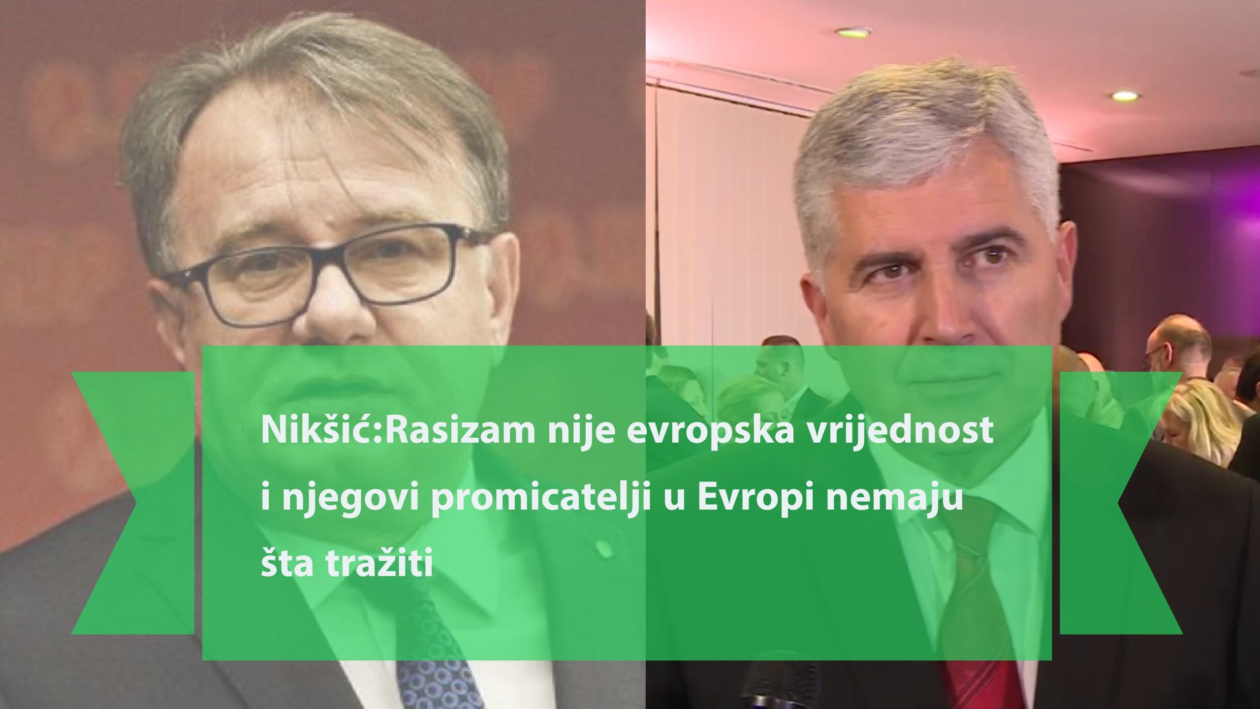 Nikšić u otvorenom pismu Čoviću: Nije problem građanska država kakvu traži EU, nego rasistička država koju Vi tražite