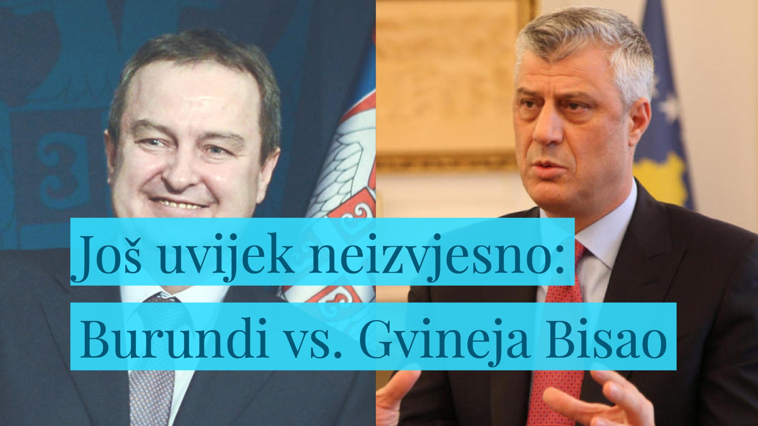 Diplomatski vic dana (II): Gvineja Bisao ponovo PRIZNALA KOSOVO! (Video)