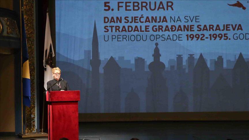 Komemorativna sjednica: Obilježen Dan sjećanja na sve poginule građane Sarajeva