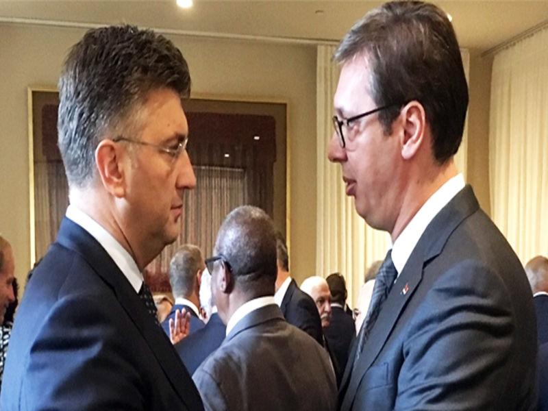 Posjeta Vučića Hrvatskoj: Premijer Hrvatske istrajava na temi ratne odštete