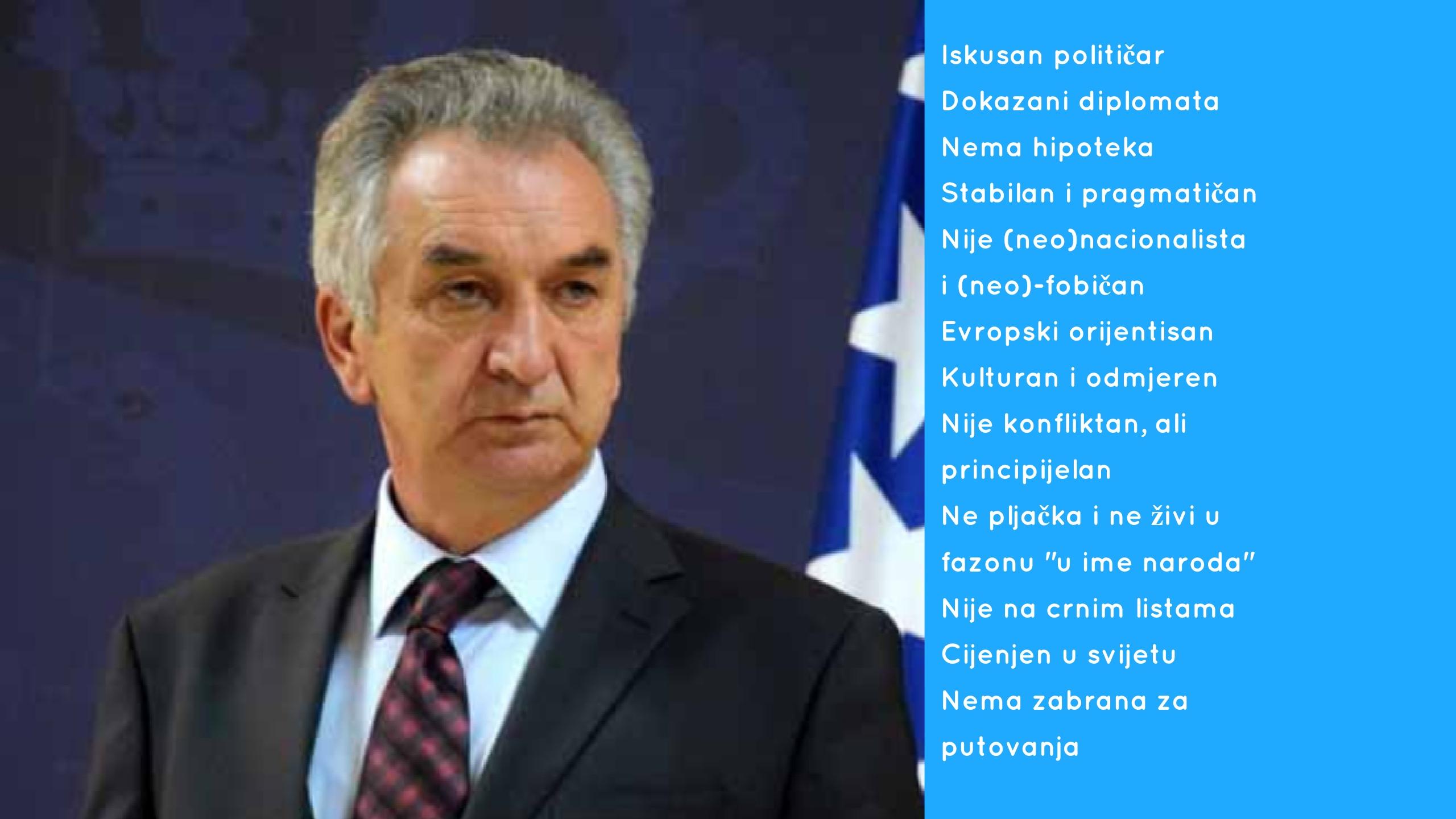 Ministar Šarović: Prihvatio bih kandidaturu za Člana Predsjedništva BiH