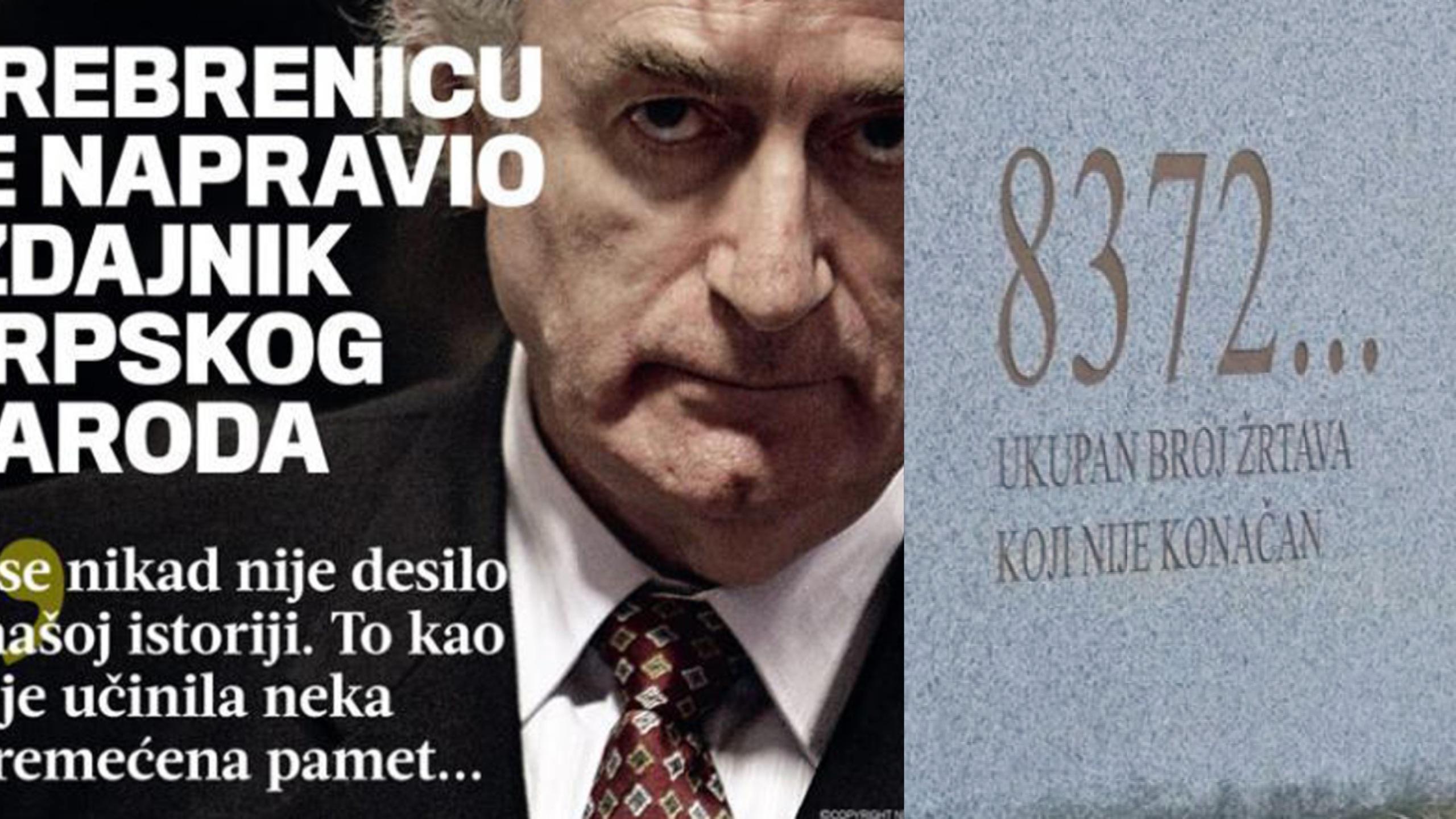 """Žalbeni postupak na suđenju Radovanu Karadžiću: Kompjuterska analiza """"može pokazati namjeru Karadžića u Srebrenici"""""""