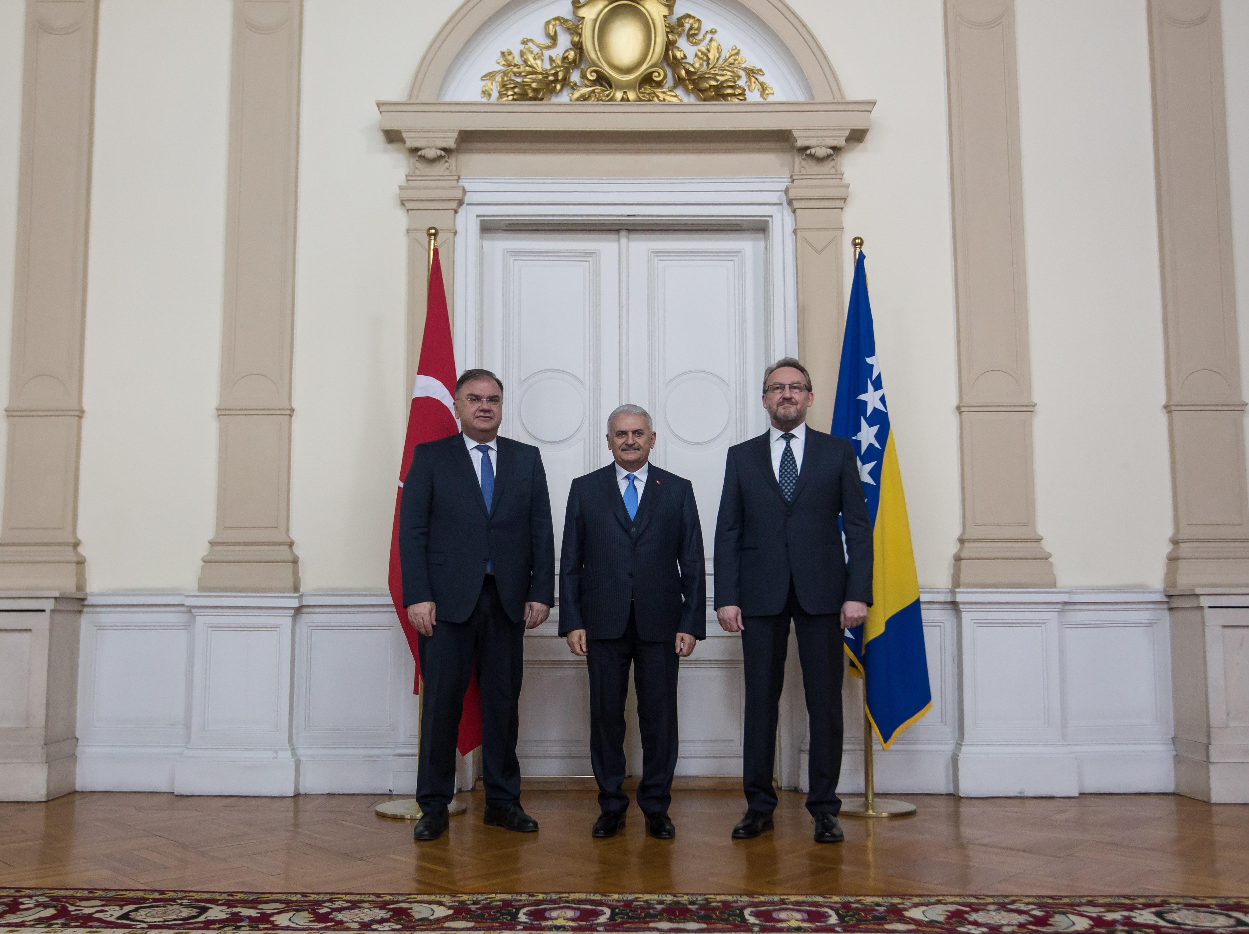 Premijer Republike Turske: Sastanak sa Članovima Predsjedništva BiH