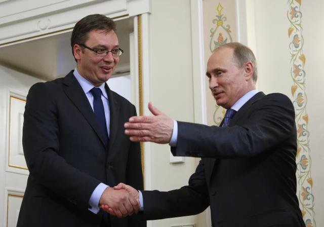 Putin Vučiću: Rusija snažno osuđuje akcije Prištine