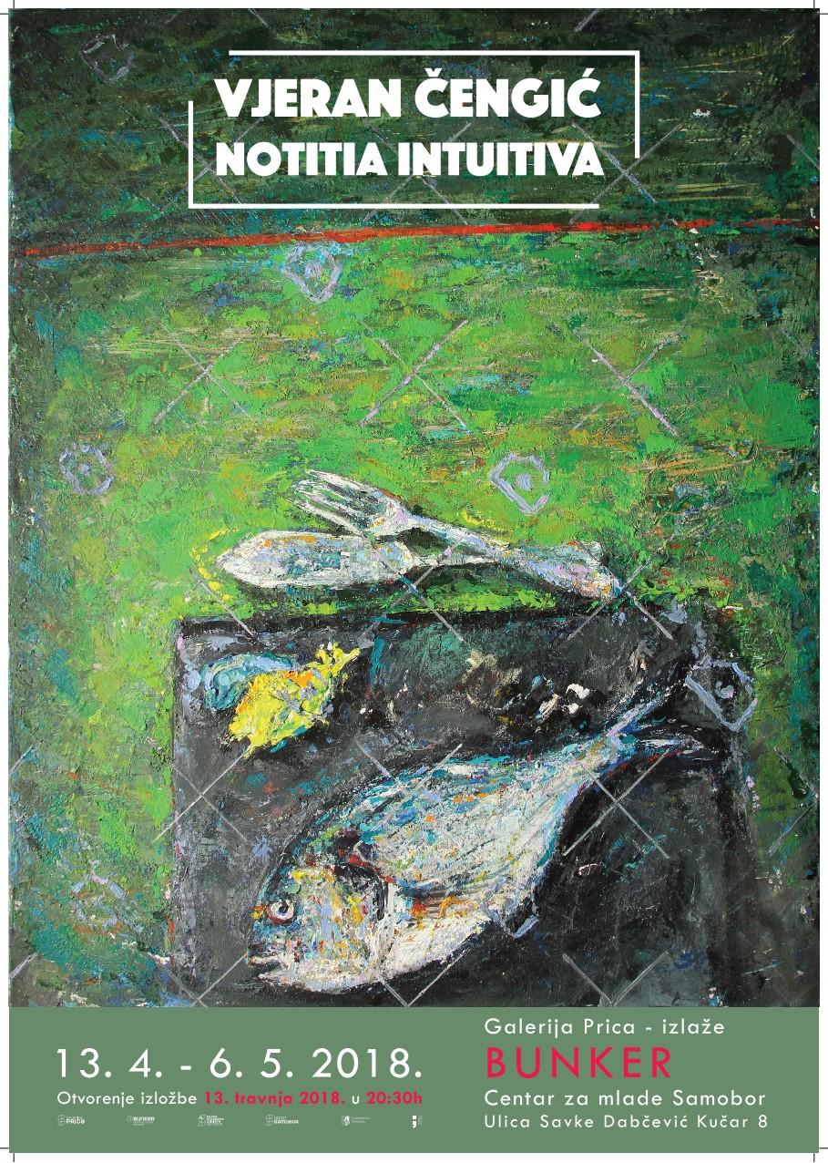 Najava izložbe: Vjeran Čengić - Notitia Intuitiva