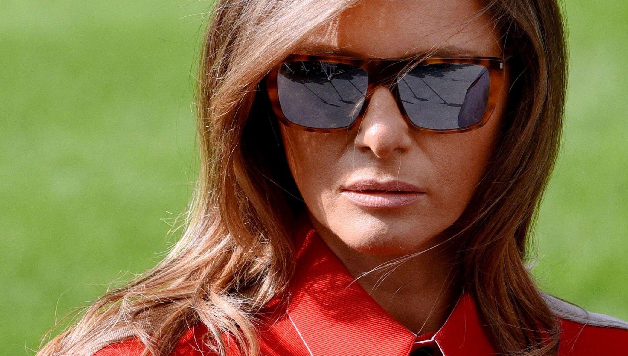 Nakon glasina: Melania Trump u blistavom izdanju