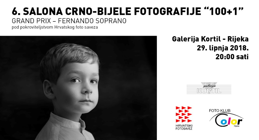 """Najava izložbe: 6. salona crno-bijele fotografije """"100+1"""""""