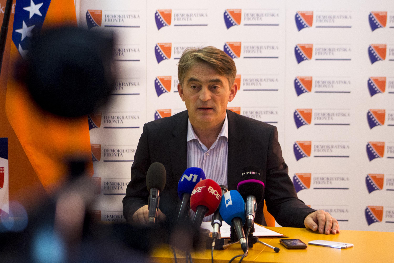 Željko Komšić: Građani BiH braneći Ustav, brane međunarodni poredak