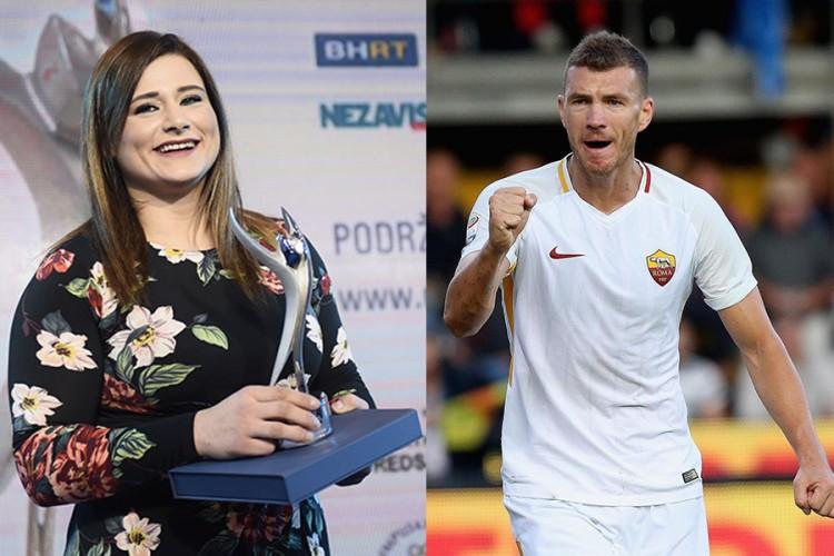Izbor sportista 2018: Larisa Cerić i Edin Džeko