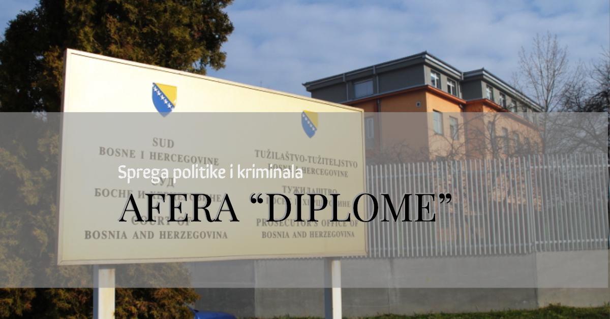 Kartel ilegalnih diploma: Sprega kriminala i politike