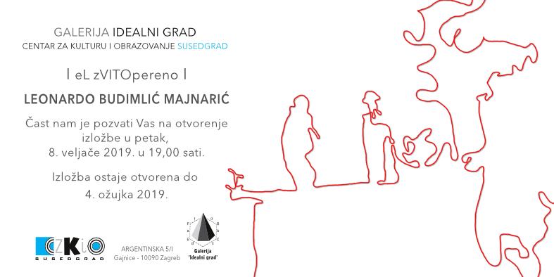 """Najava izložbe: """"eL zVITOpereno"""" - Leonardo Budimlić Majnarić"""