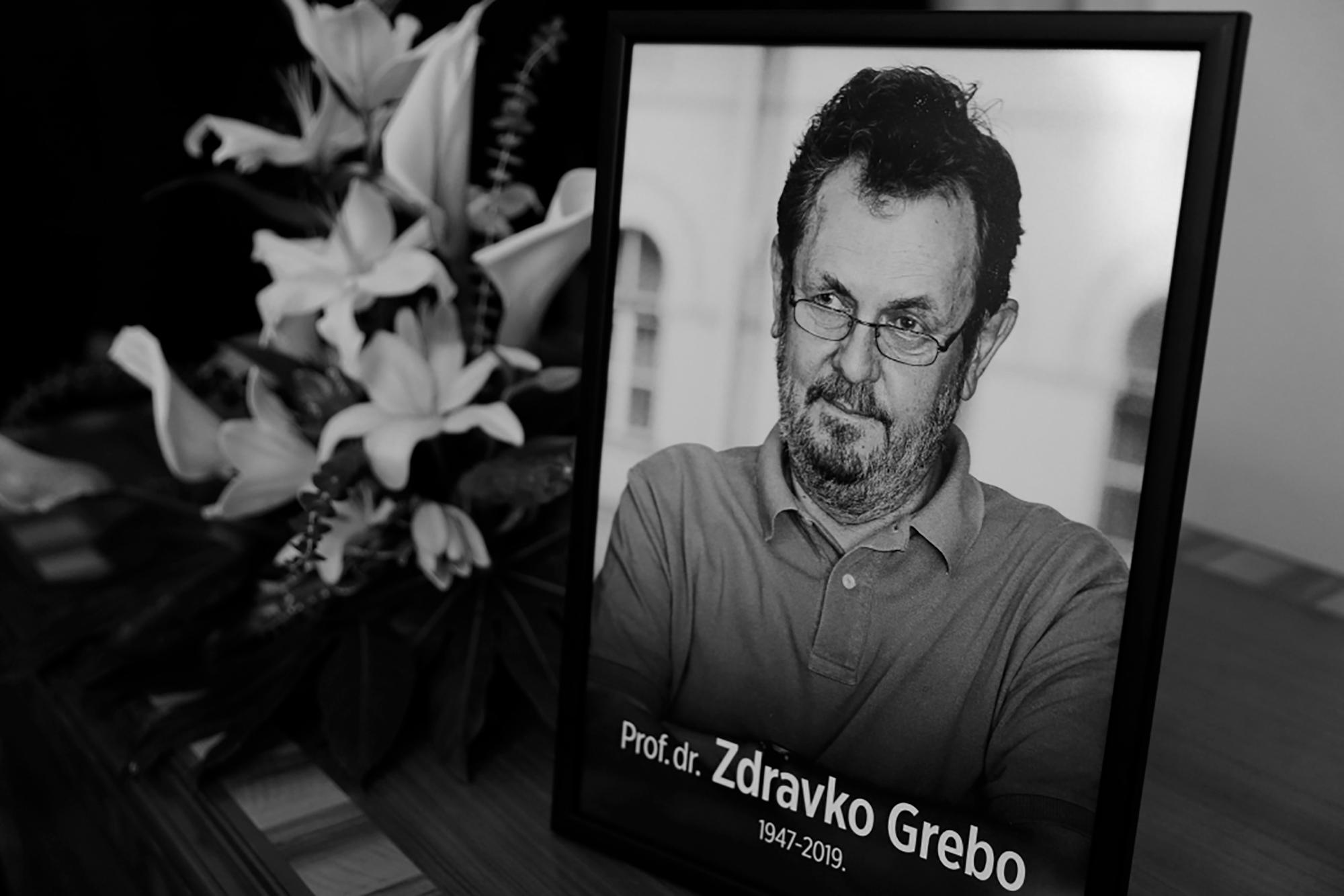 Sarajevo: Komemoracija povodom smrti Zdravka Grebe