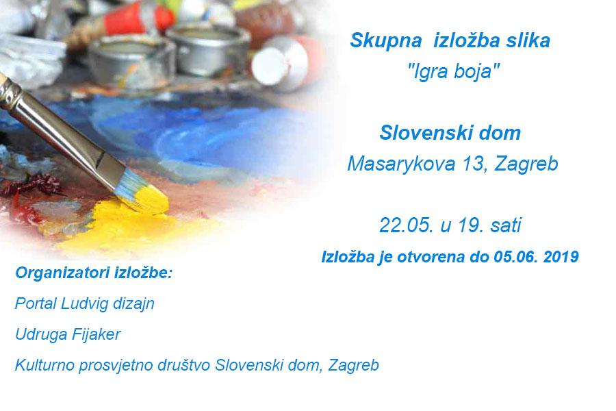 """Najava izložbe: """"Igra boja"""" - skupna izložba"""