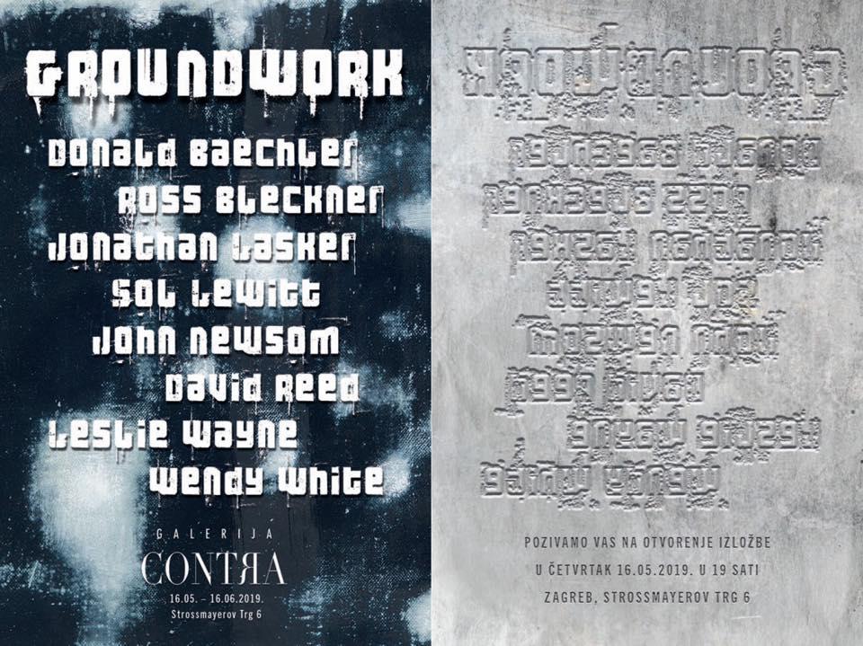 """Najava izložbe: """"GROUNDWORK"""" - grupna izložba njujorških umjetnika"""