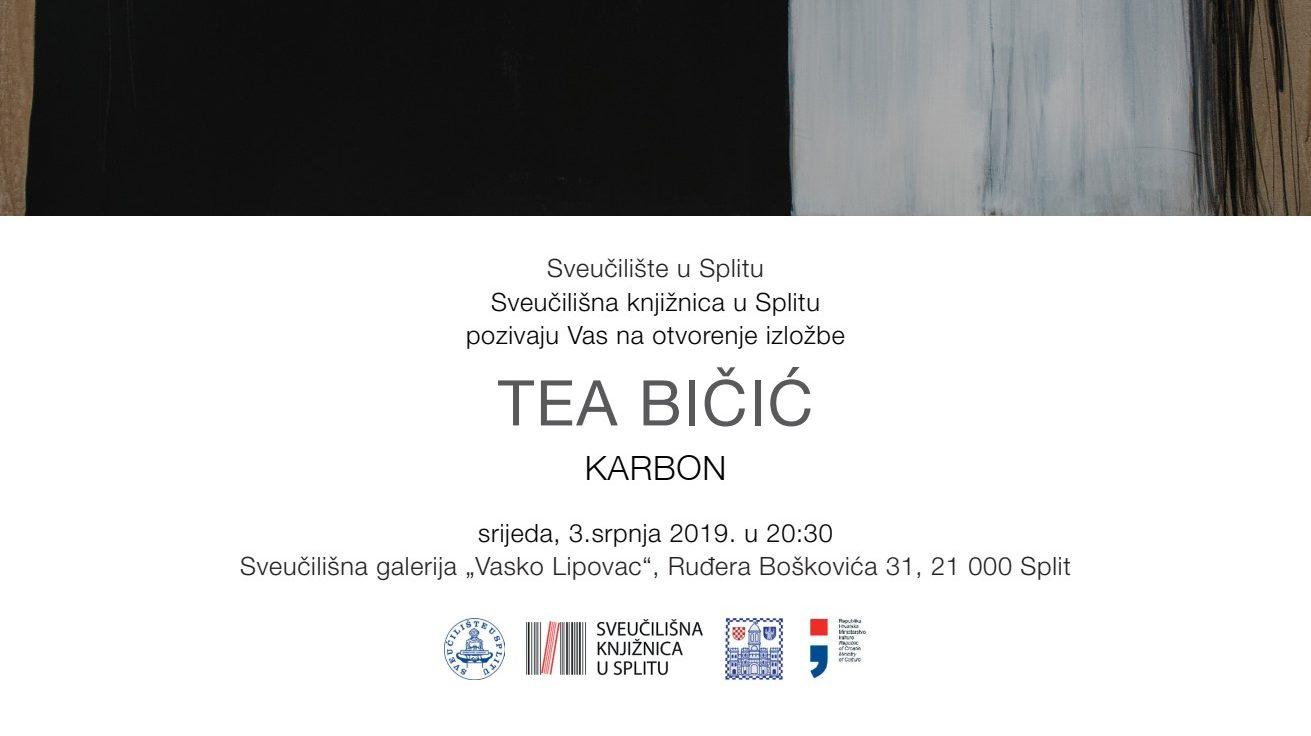 "Najava izložbe: ""Karbon"" - Tea Bičić"
