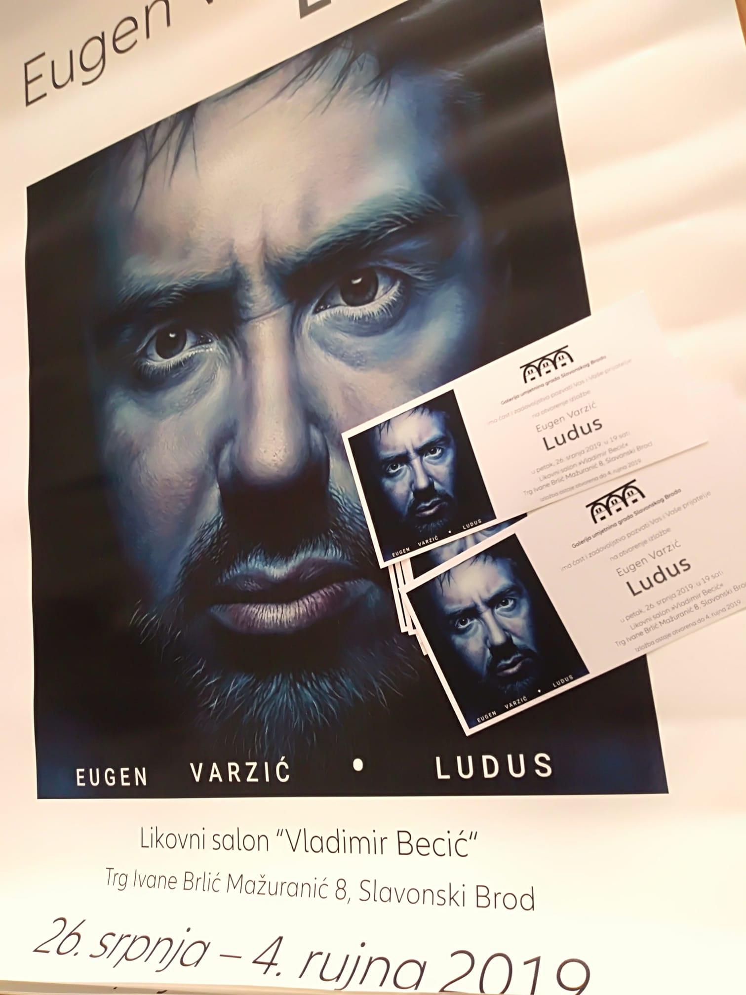 "Najava izložbe: ""Ludus"" - Eugen Varzić"