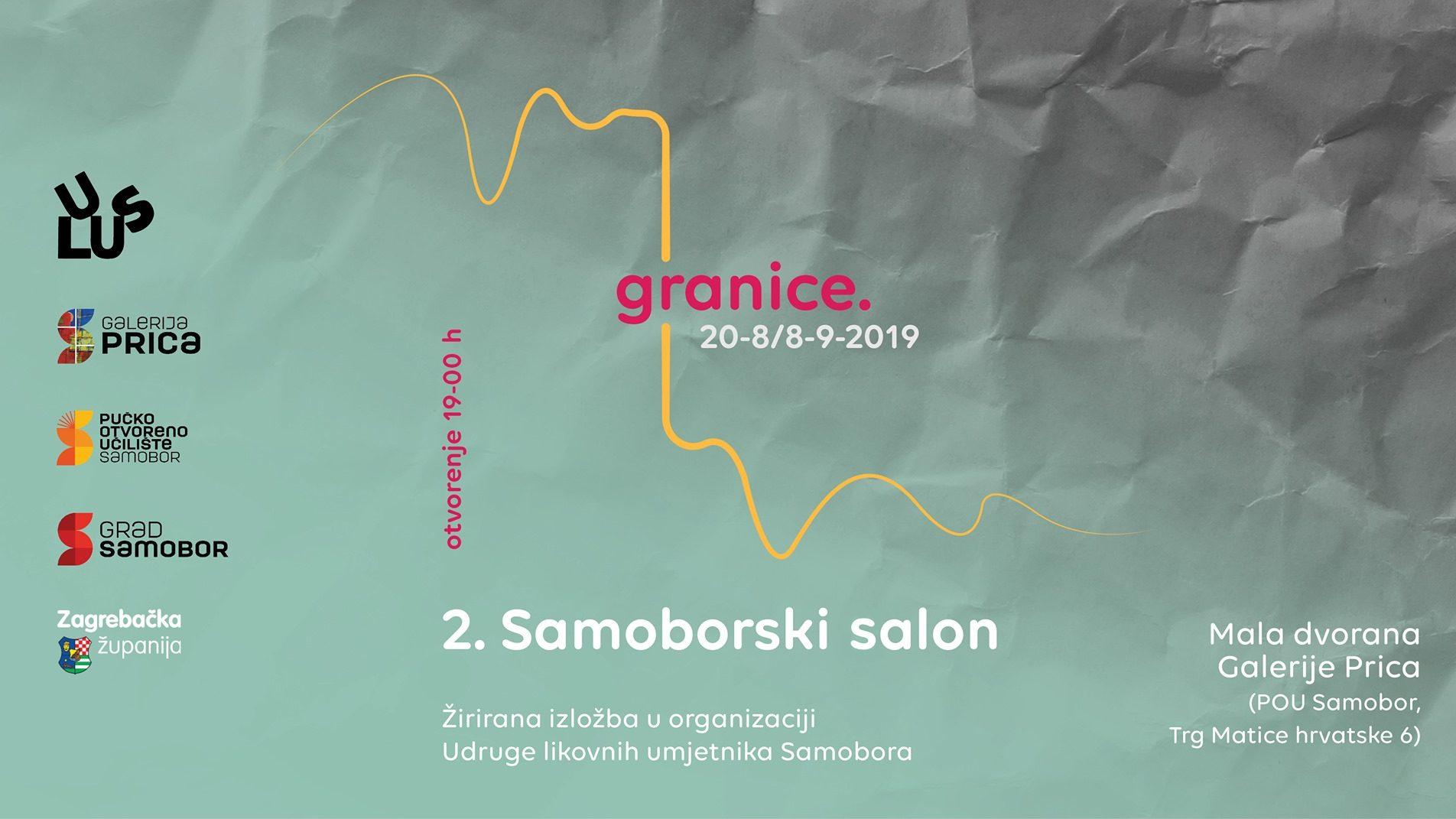 """Najava izložbe: """"Granice"""" - 2. Samoborski salon"""