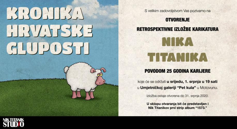 Najava izložbe: Retrospektivna izložba - Nik Titanik