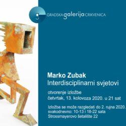 """Najava izložbe: """"Interdisciplinarni svjetovi"""" - Marko Zubak"""