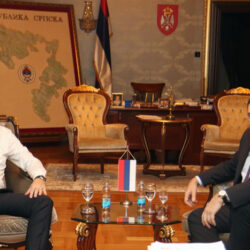 Serbian extremist and separatist Milorad Dodik condemned by the international community