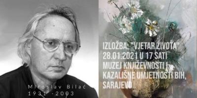 """Najava izložbe: """"Vjetar Života""""- Miroslav Bilać (1931 – 2003)"""