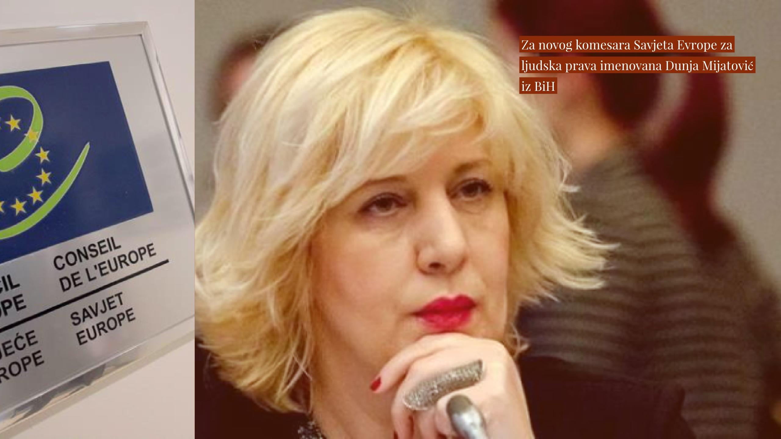 Komesar za ljudska prava u Savjetu Evrope traži sankcije za divljanje u manjem BiH entitetu