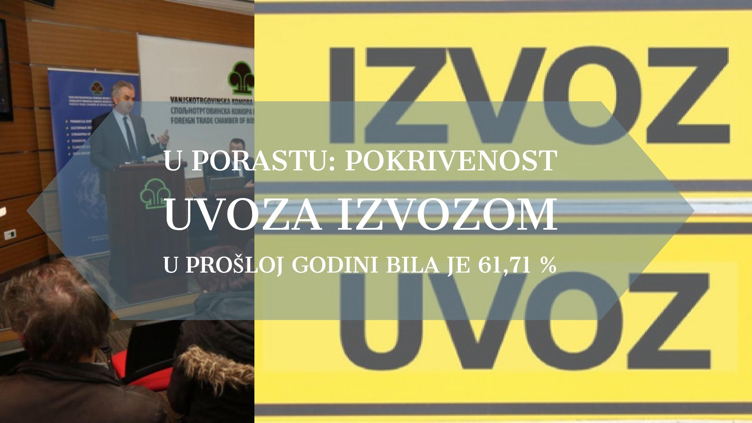 Prezentacija trgovinske razmjene BiH: Vanjskotrgovinska razmjena skoro 30 mil. KM