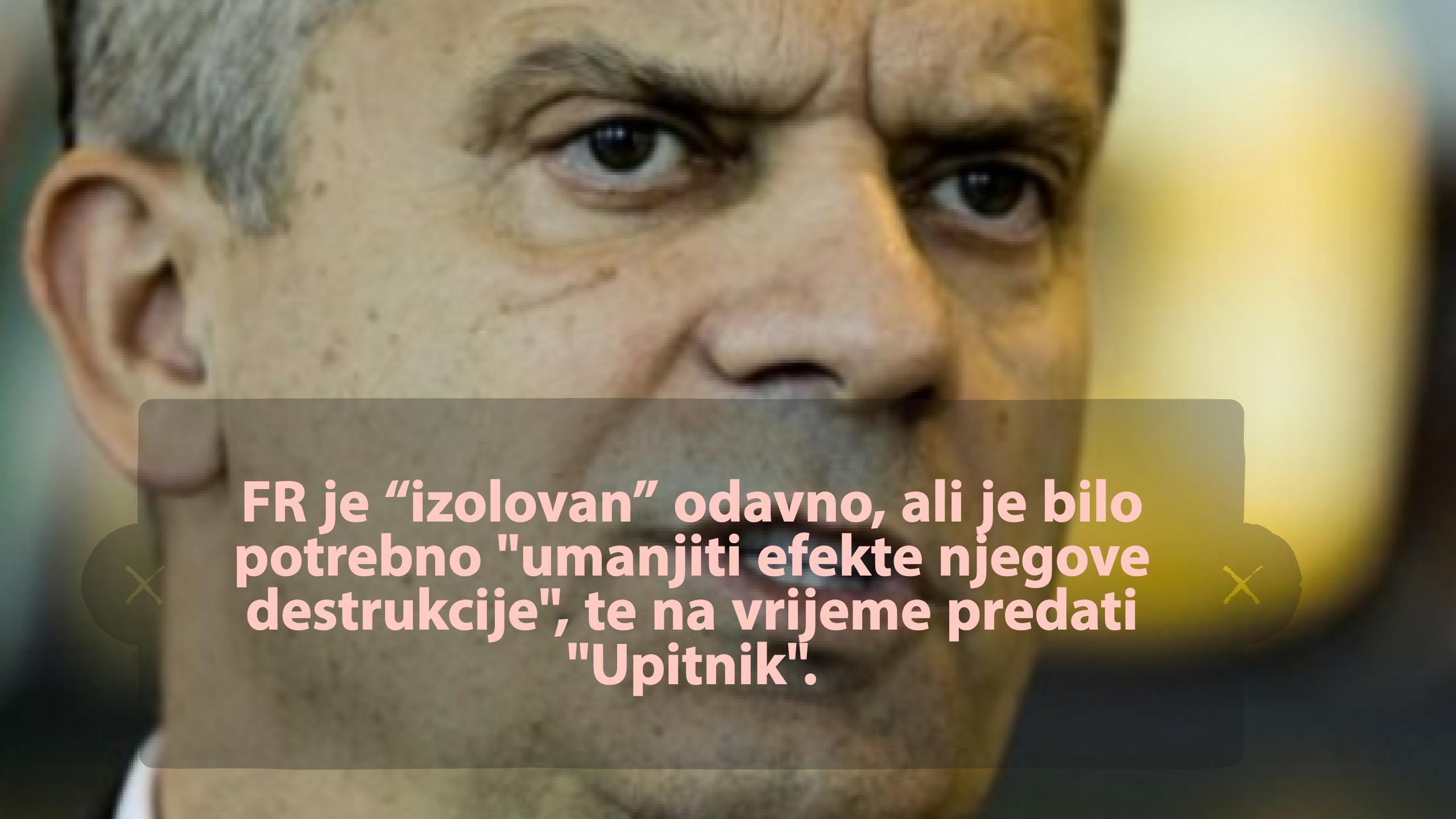 """Hipotetička prognoza: Dodik&Radončić Članovi Predsjedništva, ali """"izolovani"""""""