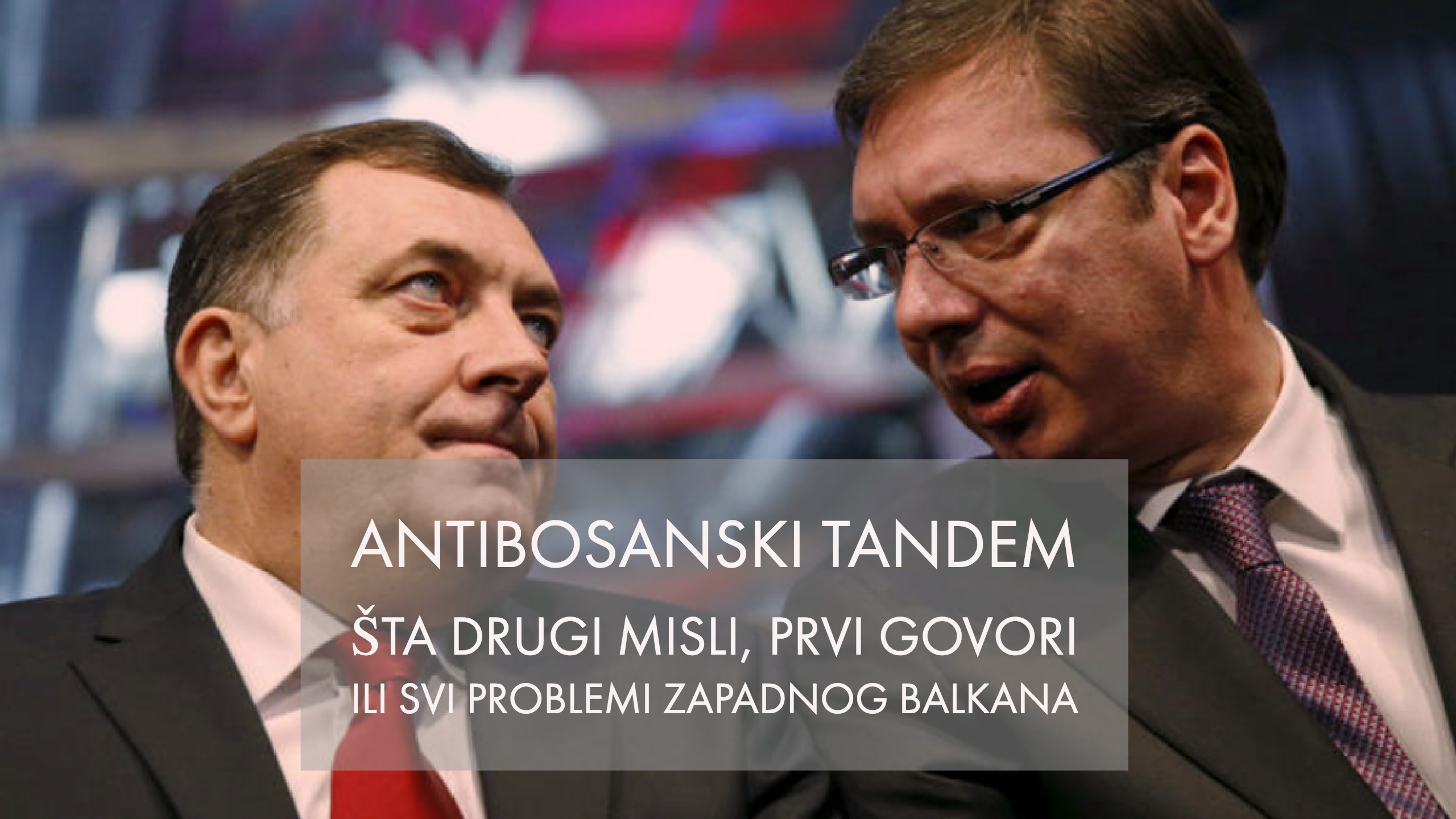 Predsjedavajući VMBiH Denis Zvizdić: Reakcija na separatističke izjave i laži entitetskog predsjednika, a kojeg podržava srbijanski predsjednik