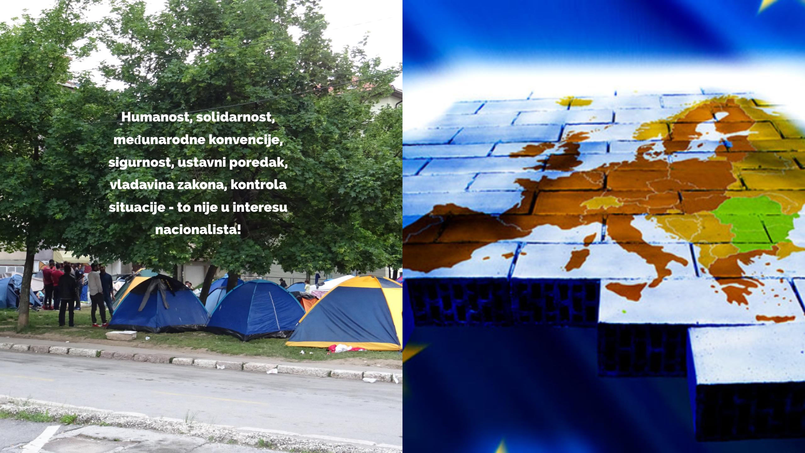 Migrantska kriza: Destabilizovanje BiH od strane neonacionalističkih sekti