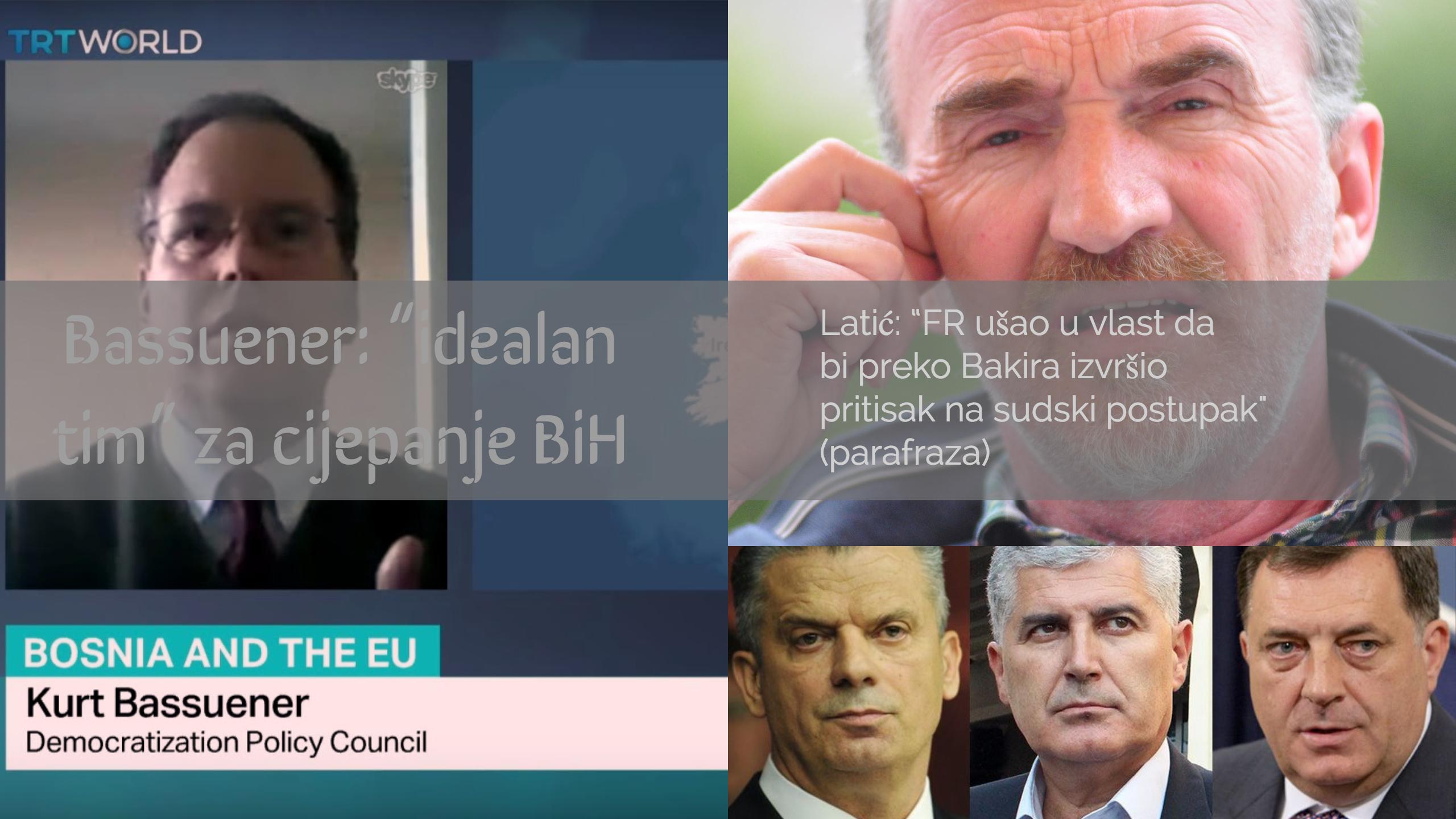 Biti il' ne biti: Panika u SBB-FR, nakon izjava Latića i Bassuenera o FR-u