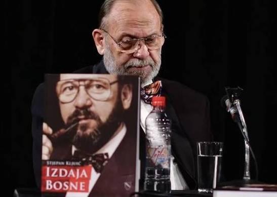 "Stjepan Kljujić: Promocija knjige ""Izdaja Bosne"" i njegov skandalozan osvrt na člana Predsjedništva Željka Komšiča"