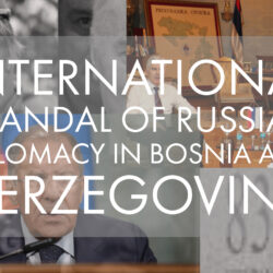 Russian diplomacy in the hands of extremists and separatists