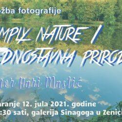 """Najava izložbe: """"Simply nature"""" (Jednostavno priroda) - Hari Maslić"""
