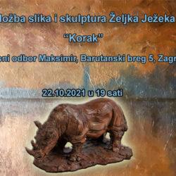 """Najava izložbe: """"Korak"""" - Željko Ježek"""