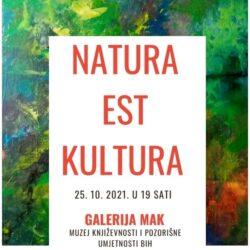 """Otvorena izložba slika Hibe Mustafić """"Natura est cultura"""""""